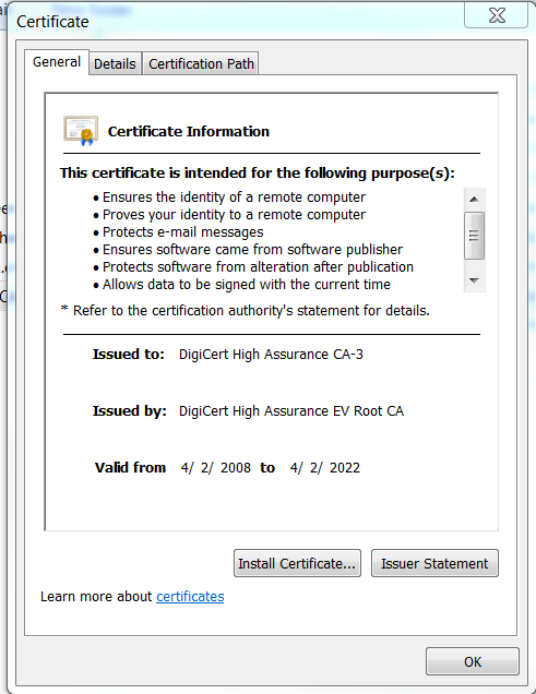 Palo Alto Networks Knowledgebase Certificate Import Error Import