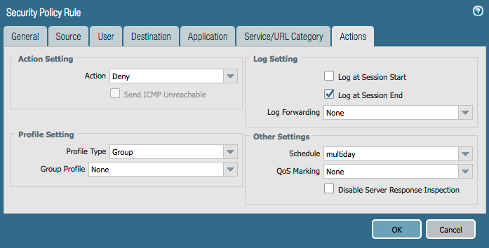 palo alto networks knowledgebase how to create a schedule that