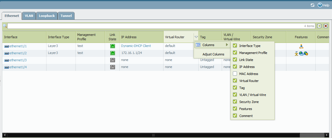 Palo Alto Networks Knowledgebase: How to View a MAC Address
