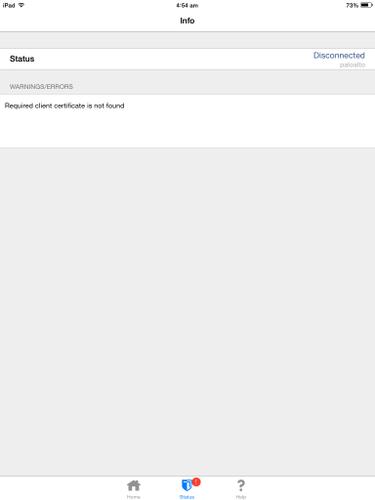 Palo Alto Networks Knowledgebase: SSL-Zertifikat für IOS-Geräte
