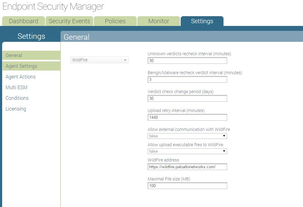 Palo Alto Networks Knowledgebase: Traps agent security