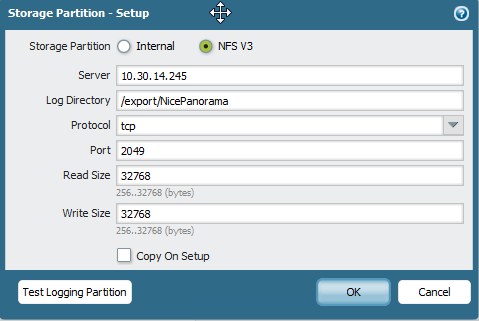 Palo Alto Networks Knowledgebase: How to Mount an NFS Volume