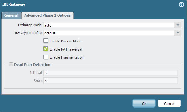 Palo Alto Networks Knowledgebase: IPSec VPN Tunnel with NAT Traversal