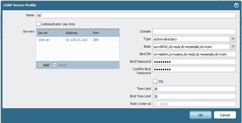 Palo Alto Networks Knowledgebase: Usernames Not Retrieved by