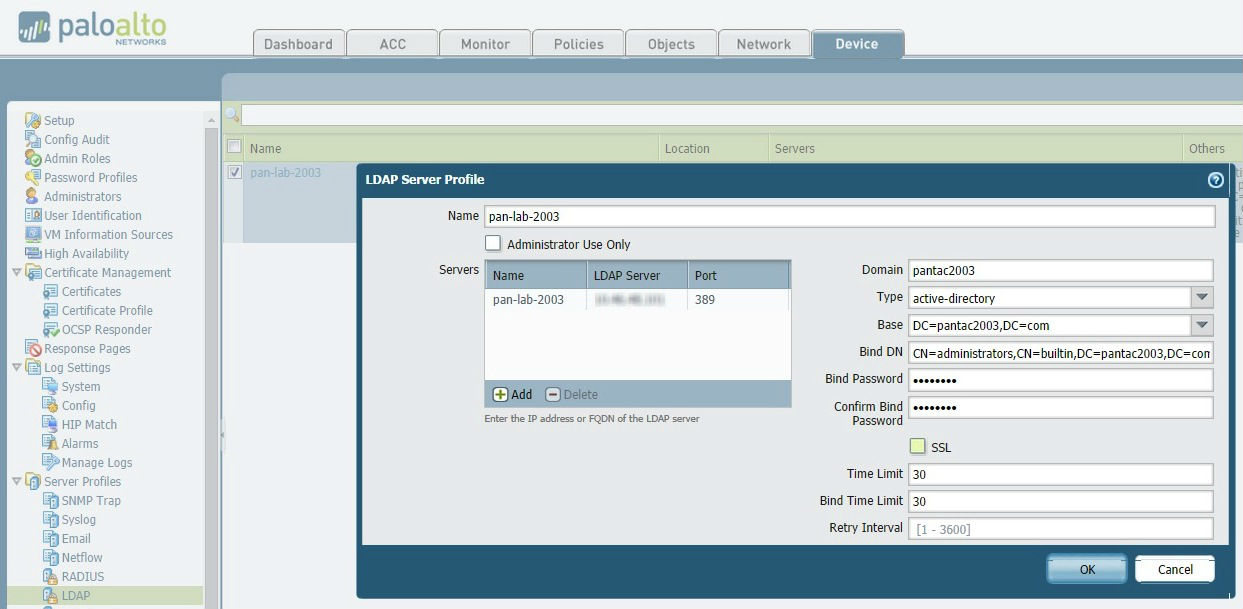 Palo Alto Networks Knowledgebase: Ports Used for Active Directory