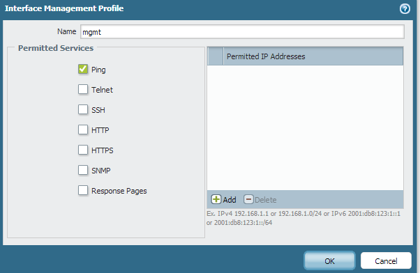 Palo Alto Networks Knowledgebase: How to Allow Ping and ICMP on