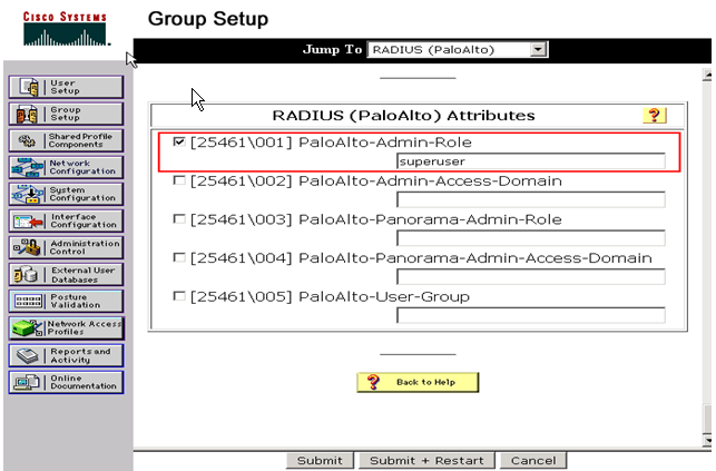 Palo Alto Networks Knowledgebase: How to use Pre-defined