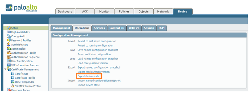 Palo Alto Networks Knowledgebase: Hardware Migration from