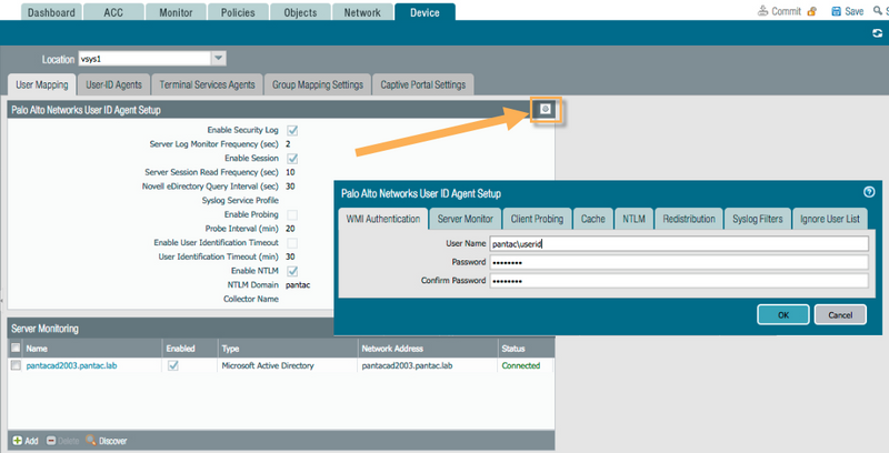 Palo Alto Networks Knowledgebase: How to Configure Agentless