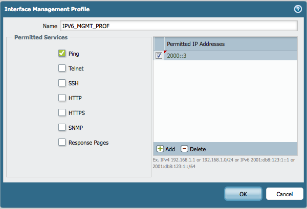 Palo Alto Networks Knowledgebase: Cannot Ping IPV6 Address on Layer3