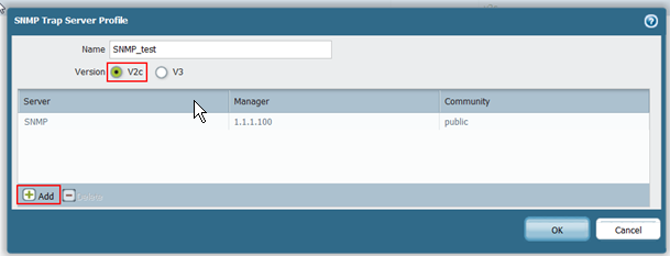 Palo Alto Networks Knowledgebase: How to Configure SNMPv2 on