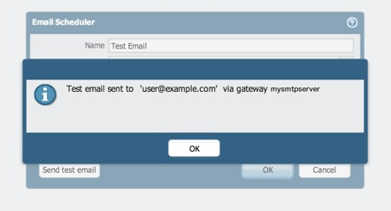 Palo Alto Networks Knowledgebase: How to Send a Test Email to Verify