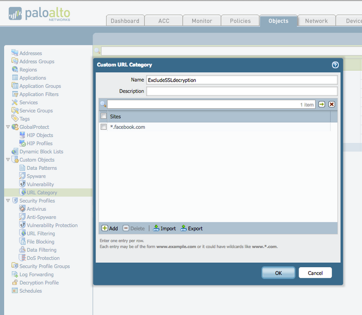 Palo Alto Networks Knowledgebase: SSL Website Not Working After