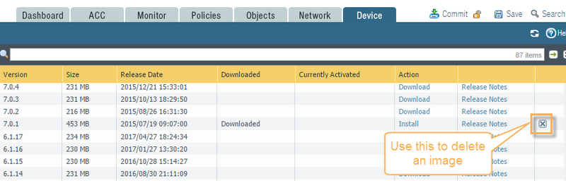 Palo Alto Networks Knowledgebase: How to Delete Unnecessary