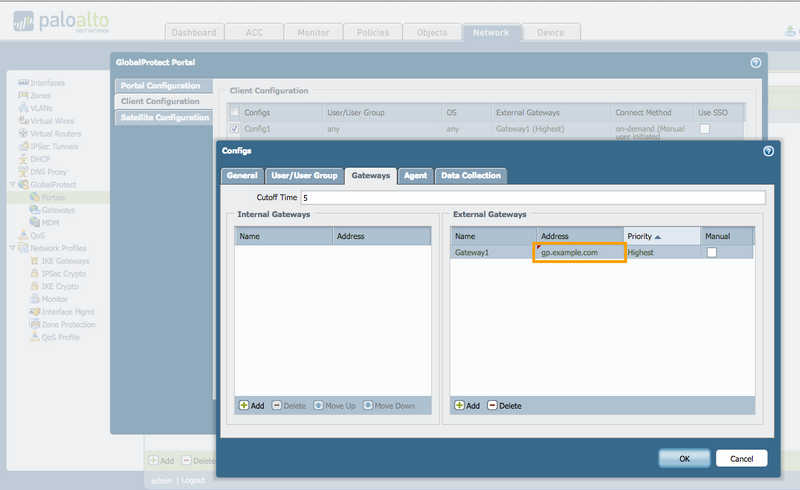 Palo Alto Networks Knowledgebase: GlobalProtect Gateway Certificate