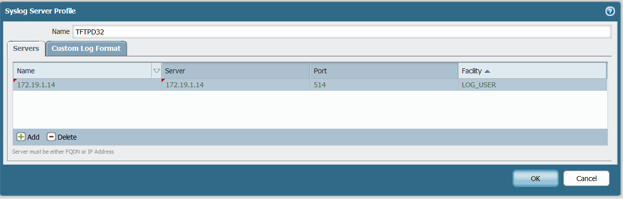 Palo Alto Networks Knowledgebase: How to Forward Critical System Log