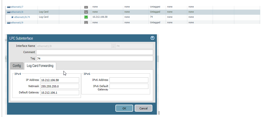 Knowledge: How to configure Log Forwarding for LPC on PA-7000 series