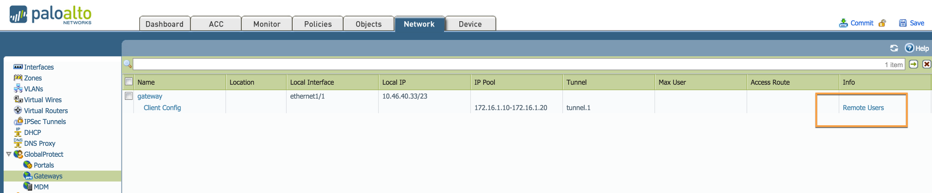 Palo Alto Networks Knowledgebase: How to List Current or