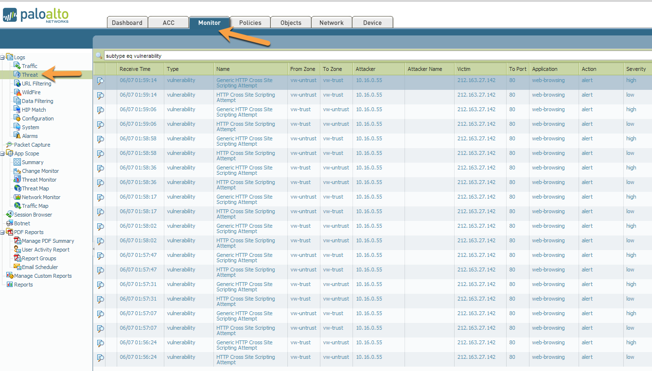Palo Alto Networks Knowledgebase: How to Add Exempt IP Addresses
