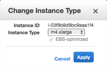 Palo Alto Networks Knowledgebase: Changing AWS Instance