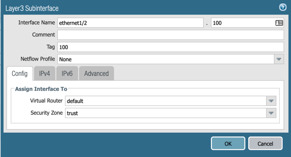 Palo Alto Networks Knowledgebase: Getting Started: Layer 3 Subinterfaces