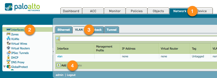 Palo Alto Networks Knowledgebase: Getting Started: Layer 2 Interfaces