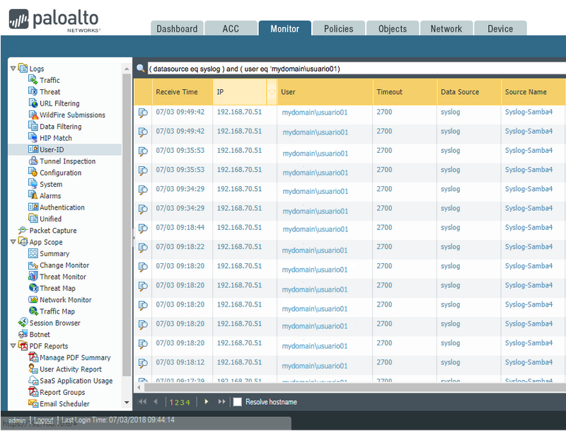 Palo Alto Networks Knowledgebase: Reading Authentication Logs