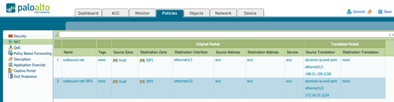 Palo Alto Networks Knowledgebase: Getting Started: Policy