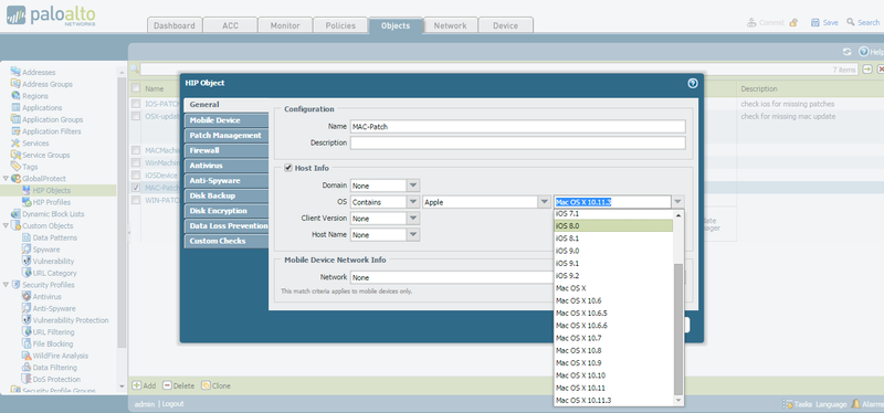 Palo Alto Networks Knowledgebase: DotW: HIP checks for