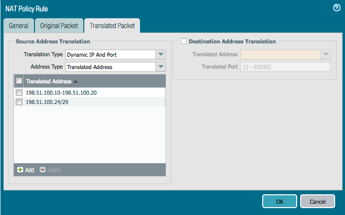 Palo Alto Networks Knowledgebase: Getting Started: Network Address