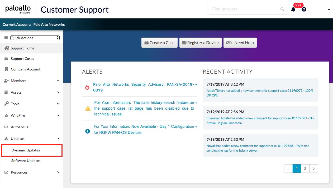 Palo Alto Networks Knowledgebase: How to Manually Install Antivirus