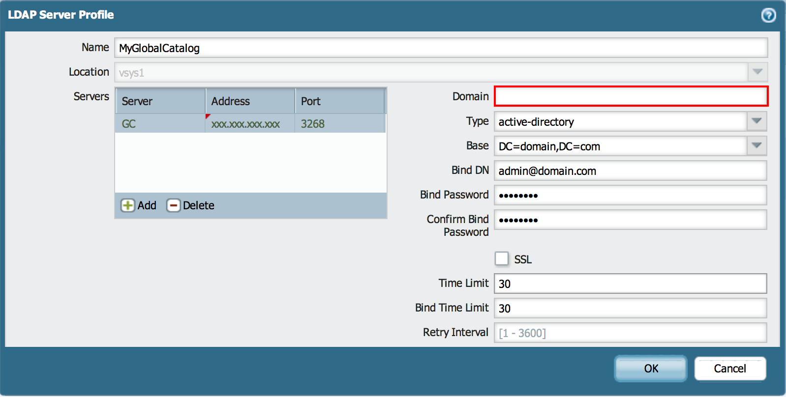 Palo Alto Networks Knowledgebase: How to Configure Group