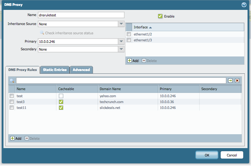 Palo Alto Networks Knowledgebase: How to Configure DNS Proxy on a
