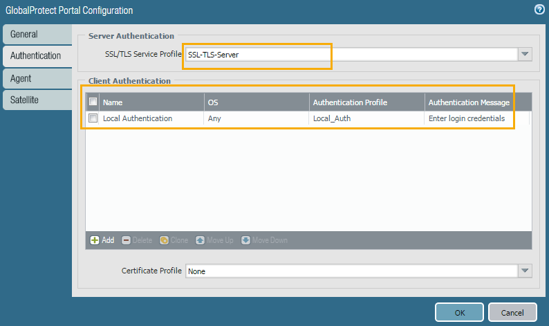 Palo Alto Networks Knowledgebase: Basic GlobalProtect Configuration
