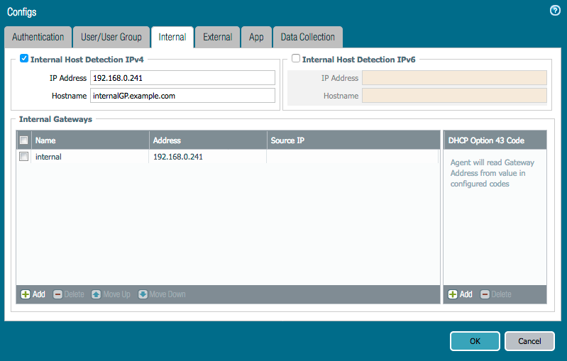 Palo Alto Networks Knowledgebase: How to Configure Internal