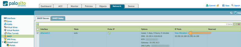 Palo Alto Networks Knowledgebase: How to Release DHCP