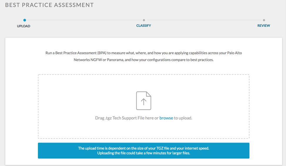 Palo Alto Networks Knowledgebase: How to use the new BPA