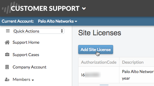 click add site license.png