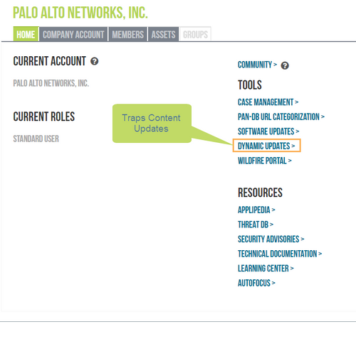Palo Alto Networks Knowledgebase: Content Updates for Traps