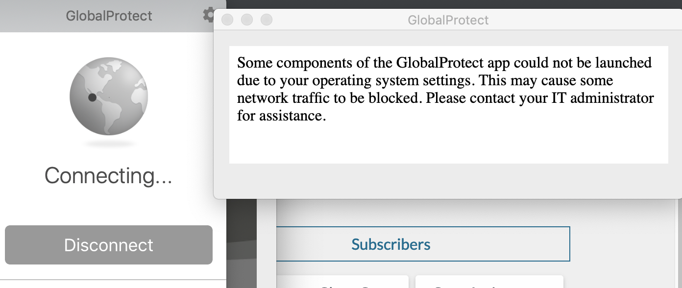 Palo Alto Networks Knowledgebase: GlobalProtect Agent Stuck