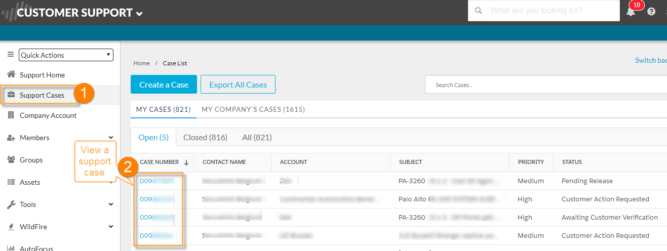 Palo Alto Networks Knowledgebase: How to Generate and Upload